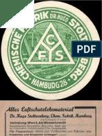 CFS - Chemische Fabrik Stoltzenberg - Teil 1 - allgemein, Phosgenkatastrophe