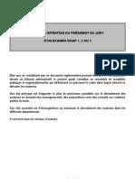 Guide President de Jury SSIAP en Ligne - Version 2011