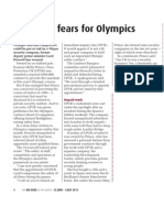 Prescott's fears for Olympics