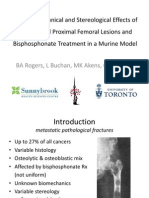 Benedict Rogers - Biomechanical Analysis of Proximal Femoral Metastatic Lesions
