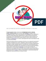 NO LO PERMITAS ACTÚA sobre el bulling