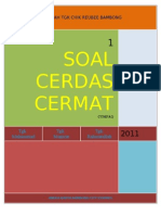 SOAL CERDAS CERMAT
