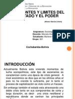 La Lucha Por El Pder en Bolivia Para Imprimir