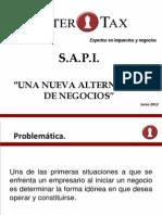 SAPI Nueva Alternativa de Negocios