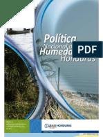 Politica Nacional de Humedales de Honduras
