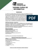 Programa Curso de Informatica