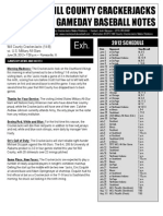 Game Notes Military