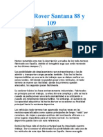 Land Rover Santana 88 y 109