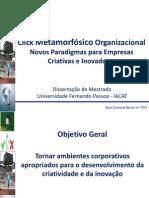 Click Metamorfósico Organizacional novos paradigmas para empresas criativas e inovadoras