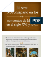 El Arte Novohispano en los conventos de México en el siglo XVI y XVII