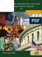NSSF - Firearms and Ammunition Industry Economic Impact Report 2012
