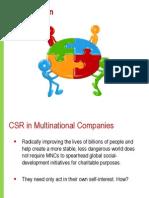 CSR in Action