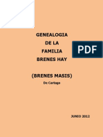GENEALOGIA BRENES HAY (Brenes Masis de Cartago)