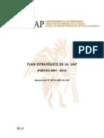Plan Estrategico UAP - Actual