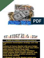 "belajar options trading sendiri ""Strategy Zero Risk"""