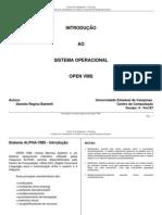 Introdução ao sistema operacional open VMS