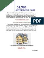 51.903 Texas Government Code