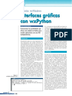 Interfaces gráficas con wxPython
