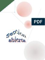 Seccion Abierta Jm-2012