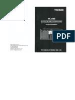 Tecsun PL-390 AM/FM Radio Operation Manual