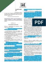 Extracte Reials Decrets 2011-2012 SAE Calella