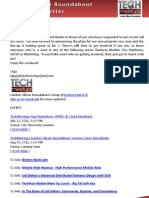 London Silicon Roundabout Weekly Newsletter 29-June-2012