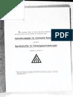 CFS - Chemische Fabrik Stoltzenberg - Teil 3 - Instruktionskasten , Sanitätskoffer