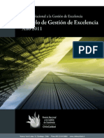Modelo Chileno de Gestión de Excelencia XV versión año 2011