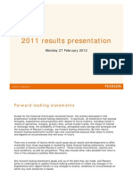 2011 Results Presentation Slides