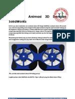 Tutorial Membuat Animasi 3D Dengan SolidWorks