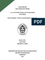ITP Organoleptik Daging