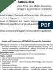 Managerial Economics Final