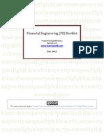 Financial Engineering Booklet