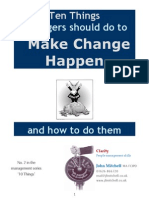 10 Things - Make Change Happen