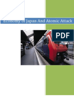 Economy of Japan and Atomic Attack