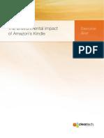 Impacto Ambiental Del Kindle