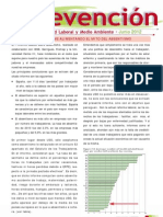 Boletín Prevención Junio 2012