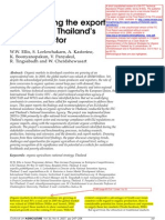Strengthening the Export Capacity of Thailand's Organic Sector - Ellis 2006 - Unpublished Proof Cross Referenced to Plagiarized TJAS Paper