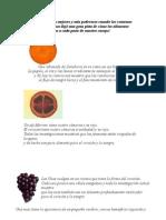 Alimentacion y Propiedades Interesantes