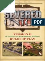 Severed Union Rulebook