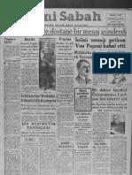 Yeni Sabah Mayıs 1941 - II