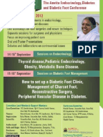 Amrita Endrocrinology, Diabetes Foot Confrence