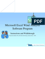 Excel Wind Analysis Present