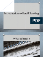 Introduction to Retail Banking