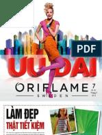 Catalogue Oriflame 7-2012
