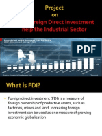 How Foreign Direct Investment help the Industrial Sector