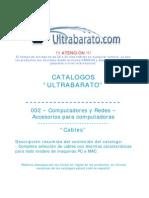 002 - Accesorios Para Computadora - Cables - UT