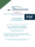 012 - Accesorios Para Computadora - Otros Accesorios - UT