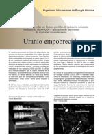 Uranio empobrecido hoja descriptiva OIEA