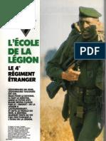 L'école de la Légion,RAIDS N°34,1989.márc